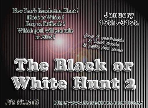 Black or White Hunt 2